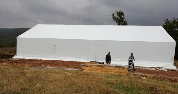 şantiye çadır sistemleri