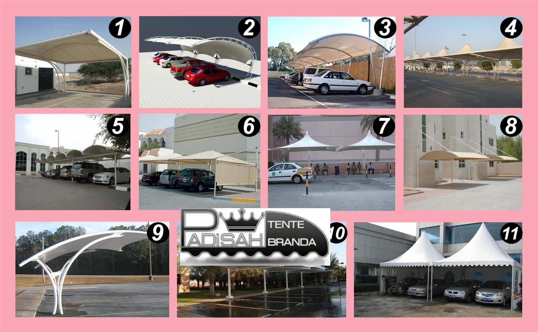 oto park tente sistemleri